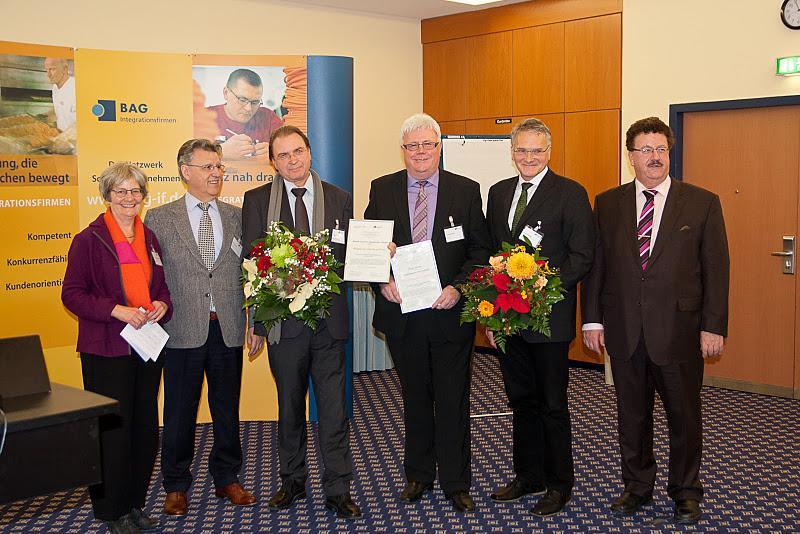 Preisverleihung Rudolf-Freudenberg-Preis 2011