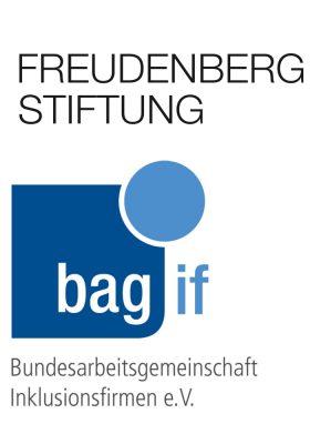 Logos der Freudenberg Stiftung und bag if