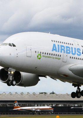 Airbus 380 hebt ab